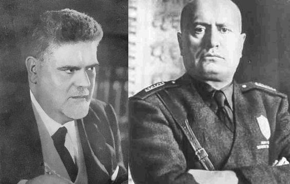 Giovanni Gentile - Benito Mussolini