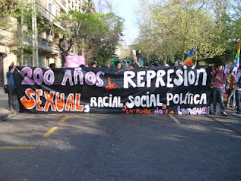 Marcha contra la represión sexual