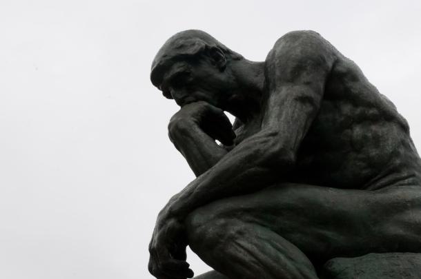 El pensador de Auguste Rodin